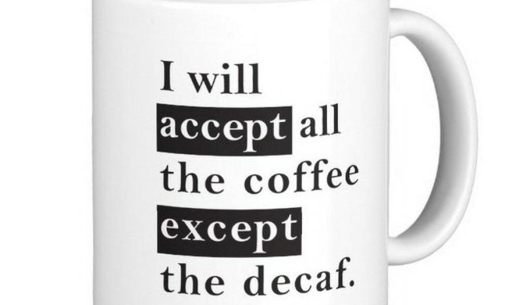 accept vs except mug